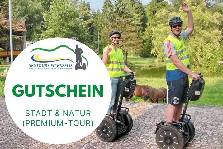 Stadt & Natur (Premium-Tour) - Gutschein